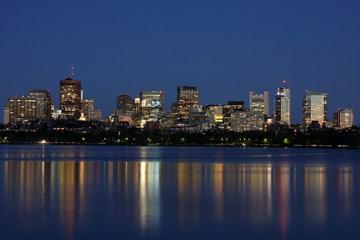 Die Skyline von Boston / USA